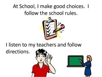 Social Story (Making Good Choices)