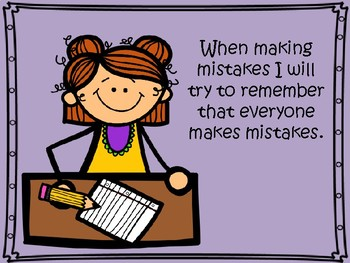 Social Story: Making Mistakes