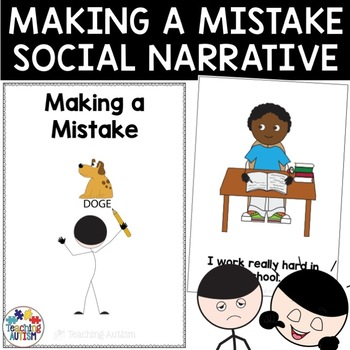 Social Story Making a Mistake