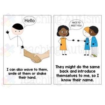 Social Story Meeting New People