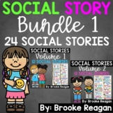Social Story Bundle 1: 24 Social Stories {Half and Full Page Versions}