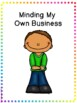 Social Story - Minding My Own Business