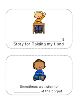 Social Stories: Mini-Books {12 Customizable Stories!}