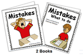 Social Story (Illustrated) - Mistakes