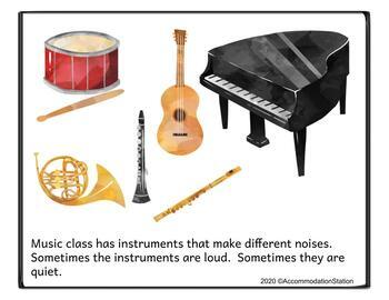 Social Story: Music Class - Setting expectations to prepare students
