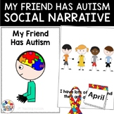 Social Story My Friend Has Autism