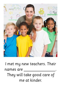 Social Story: My New Kinder Room - Back to School