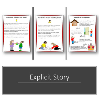 SOCIAL STORY Tips For Having A Great Play Date {For Boys & Girls}