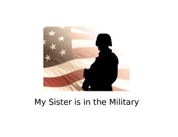 Social Story My Sister is in the Military
