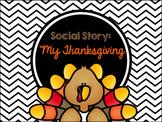 Social Story: My Thanksgiving
