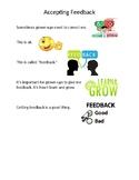 Social Story Narrative : Accepting Feedback