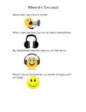 Social Story Narrative: When It Gets Too Loud; Using Headphones