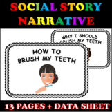 Social Story Narrative for Brushing Teeth with Visuals and
