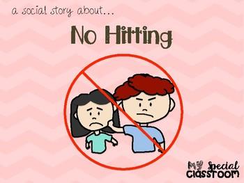 Social Story - No Hitting (Boy Version)