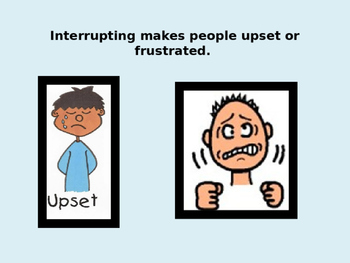 Social Story- No Interrupting