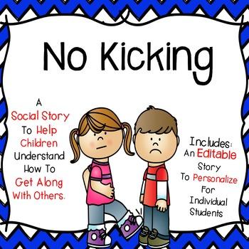Social Story - No Kicking