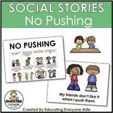Social Story - No Pushing