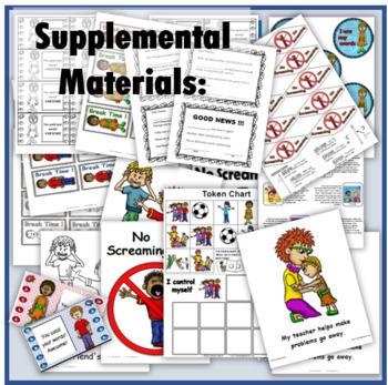 Social Story (Illustrated) - No Screaming!