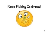 Social Story - Nose Picking