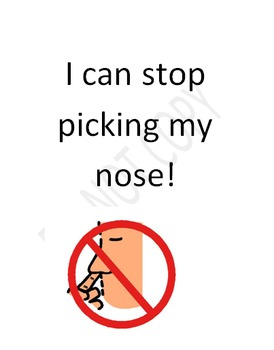 Social Story: Nose Picking