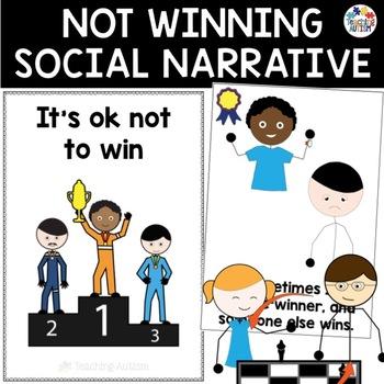 Social Story - Not Winning