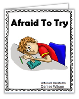 Social Story PLUS (Illustrated) - Afraid To Try