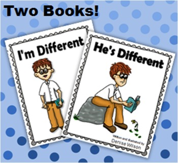 Social Story PLUS (Illustrated) - Being Different