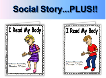 Social Story PLUS (Illustrated) - I Read My Body
