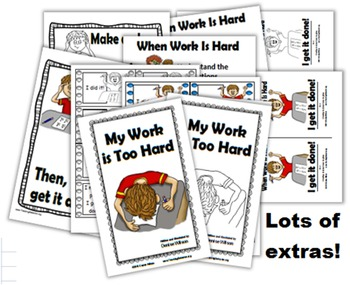 Social Story (PLUS) Illustrated - My Work is Too Hard