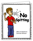Social Story PLUS (Illustrated) - No Spitting