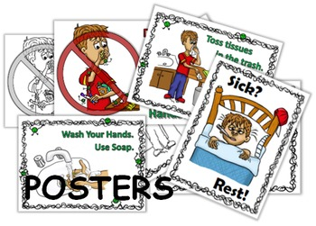 Social Story PLUS (Illustrated) - Runny Nose - Clean Hands