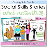 SOCIAL STORY SKILL BUILDERS Pack 1 { Coping Strategies, 3rd - 5th }