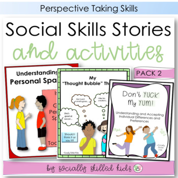SOCIAL STORY~ Pack 2 {Perspective Taking Pack, For 3rd-5th