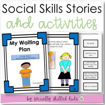 SOCIAL STORY~ Pack 3 {Pro-Social Behaviors Pack, For k-2nd Grade/Ability}