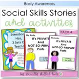 SOCIAL STORY Pack 4 { Body Awareness, k-5th }