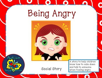 Social Story Packet for Being Angry