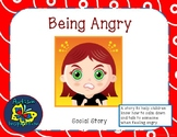 Being Angry Social Story Packet