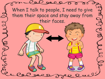 Social Story: Personal Space