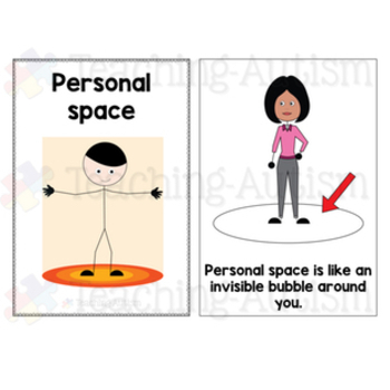 Social Story Personal Space