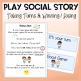 Social Story Playing Game Winning and Losing
