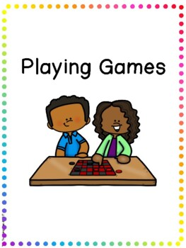 Social Story - Playing Games