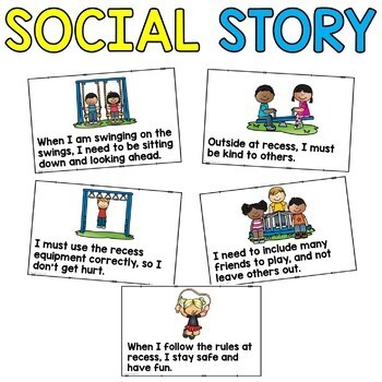 Social Story: Playing at Recess