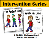 Social Story Plus (Illustrated) - Walking in Line Hip & Lip