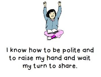 Social Story - Raise My Hand