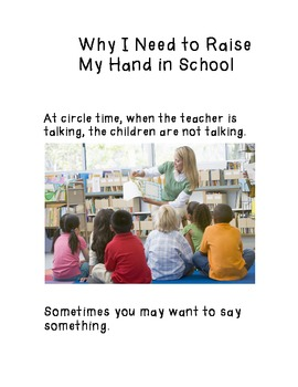 Social Story- Raising Hand