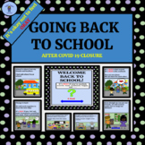 Primary Resource Returning To School After COVID ( Mental Health Social Story )