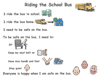 Social Story - Riding the Bus