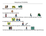 Social Story, Riding the Bus - Autism Visual