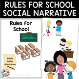 Rules for School Social Narrative Story