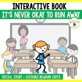 Social Skills Story Running Away - Activities and Mini Books SEL